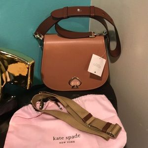 New Kate ♠️ Spade bag with Interchangeable Strap